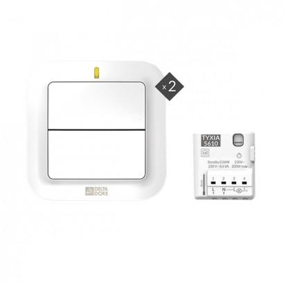 Pack TYXIA 611 [- Pack éclairage pour ajout d'un interrupteur supplémentaire sans fil - Delta Dore]