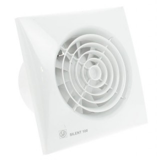 SILENT 100 [- Aérateur axial silencieux - Ventilation mécanique ponctuelle - Unelvent]
