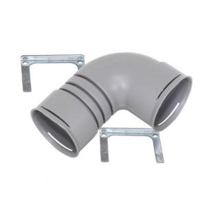 Coude PE 90° [- Ø 75 ou 90 mm - Conduits et accessoires VMC en PE - Réseau ComfoTube - Zehnder]