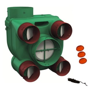 ARIANT HCS [- VMC Simple flux Hygrovariable - Très basse consommation - Vortice]