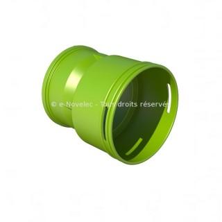Adaptateur caisson Ø 90 mm [- Conduits et accessoires VMC en PEHD - Réseau Profi-air - Vortice]