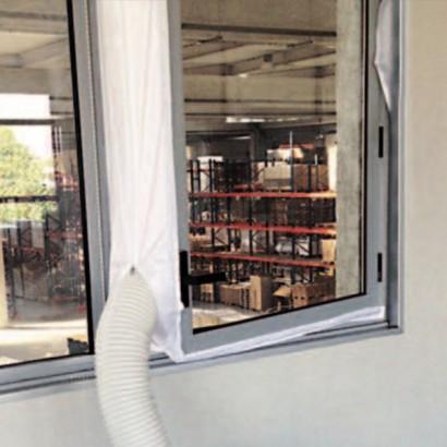 Kit fenêtre à ventail pour Climatiseur Kryo Polar Evo [- Climatisation mobile - Vortice]