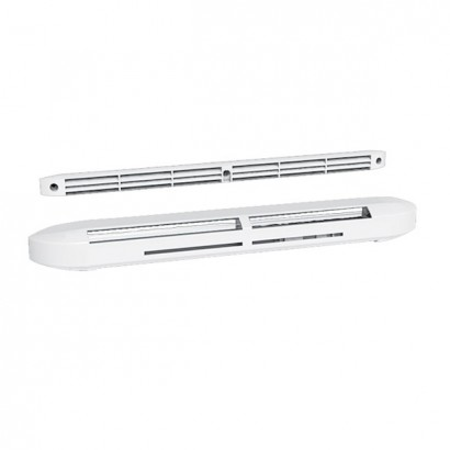 Entrée d'air hygroréglable acoustique compacte (Blanche, Gris clair ou Noire) [- accessoires VMC - Atlantic]