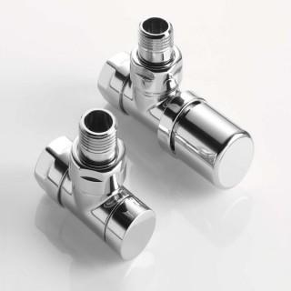 Pack robinetterie manuelle thermostatisable - Coudé - Chromé [- ACOVA]