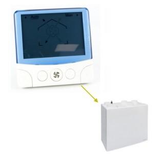 Télécommande radio pour VMC DUOLIX MAX (412137) [- pièce détachée VMC double flux - Atlantic - Ni repris ni échangé]