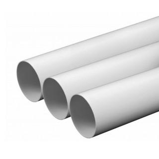 Tube 2 mètres D 51 mm extérieur [- TUB.AC - Réseau Aspiration centralisée - Unelvent]