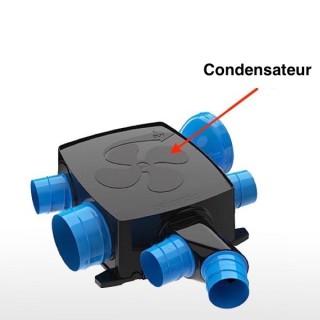 Condensateur 0,9 µF pour HYGROCOSY FLEX - Ref 412295 [*- pièce détachée VMC simple flux - Atlantic - Ni repris ni échangé]