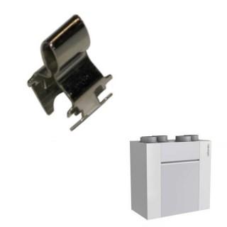 Clip mâle acier (x2) pour VMC OPTIMOCOSY HR et ACCESS (412203, 412258 et 412259) [- pièce détachée VMC - Atlantic]