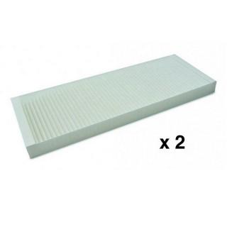 2 Filtres M5 pour VMC Sentinel Kinetic Advance 250 ou 350 [- VMC Double flux haut rendement - VENT-AXIA]
