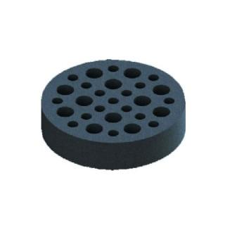 Module de réglage RM pour Bouche extraction et insufflation métallique ZSX Ø 125 mm [- Bouches VMC fixes - Zehnder]