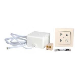 Kit sélecteur 4 positions avec indicateur de filtre RF + récepteur RF [- Accessoire VMC Double flux haut rendement - BRINK]