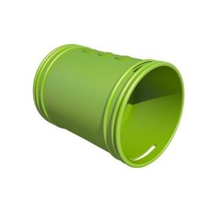 Manchon circulaire - Ø 75 ou 90 mm [- Conduits et accessoires VMC en PEHD - Brink]
