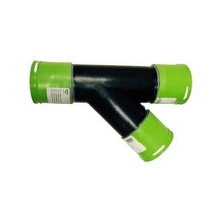 Dérivation 45° PEHD - Ø 90 mm [- Conduits et accessoires VMC en PEHD - Brink]