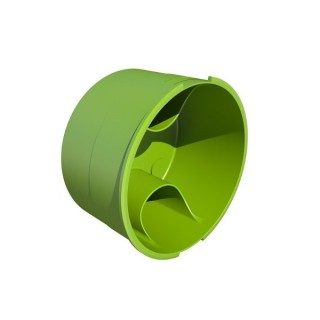 Bouchon circulaire - Ø 75 ou 90 mm [- Conduits et accessoires VMC en PEHD - Brink]