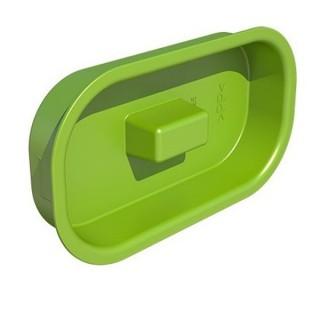 Bouchon semi-circulaire - 50x100 mm ou 60x130 mm [- Conduits et accessoires VMC en PEHD - Brink]