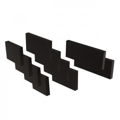 Set d'isolation phonique pour caisson multi-configuration [- Conduits et accessoires VMC en PEHD - Brink]