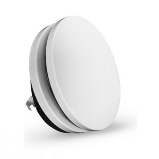 Bouche d'insufflation métallique Ø 125 blanche [- bouches VMC à débit réglable - Brink]