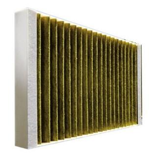 Lot de 2 filtres à charbon M6 pour Renovent Excellent 300/400/450 [- Filtration VMC Double flux haut rendement - BRINK]