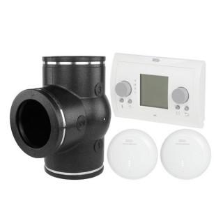 Set Ventilation par zone horaire avec Air control pour Renovent Excellent [- VMC Double flux haut rendement - BRINK]