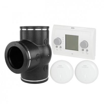 Set Ventilation par zone CO2 avec Air control pour Renovent Excellent [- VMC Double flux haut rendement - BRINK]