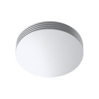 Bouche d'insufflation RINO Ø 125 mm - Blanche - montage plafond [- bouche d'insufflation longue portée - Brink]