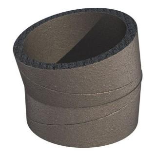 Coude 15° calorifugé - Ø 180 mm - Air Excellent System [- accessoire VMC double flux - Brink]