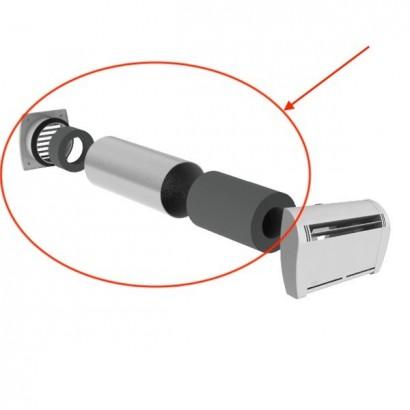 Kit SCD CIRC - Silencieux circulaire Ø 125 mm pour EHT et EAAT [- accessoires entrées d'air - Atlantic]