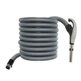 Flexible électrifié 9 m + poignée pour centrale d'aspiration Syclon [- FLF09 - Axelair]