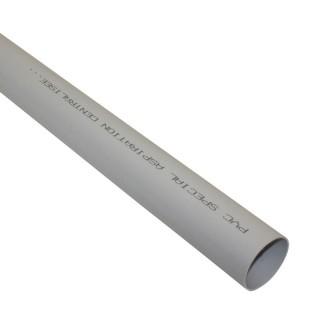 Tube PVC 2 mètres Ø 51 mm [- Réseau centrale d'aspiration - CR05002PVC - Axelair]