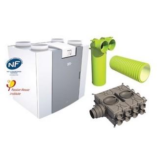 Kit FLAIR 325 [- VMC Double flux haut rendement - BRINK]