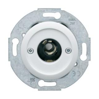 Mécanisme de poussoirs et signalisation lumineuse E10 - Albatre [- 1930 - Palazzo - Hager - WMV023B - 3250617150798]