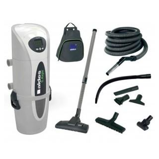 Pack centrale C.Axpir Digital + Cleaning set [- Centrale d'aspiration filaire - Aldès]