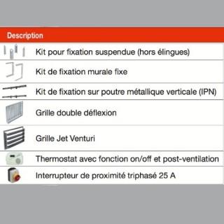 Accessoires ProElec [- Aérotherme électrique - AXELAIR]