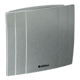 DECO - Ø 100 ou 125 mm - Finition Aluminium [- Extracteur d'air intermittent - Ventilation ponctuelle - Aldes]