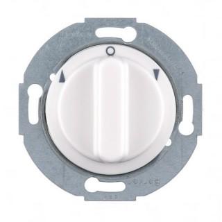 Interrupteur rotatif pour volet roulant - Albatre [- 1930 - Palazzo - Hager - WMV300B - WMV302B]