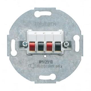 Prise HP Double - Albatre [- 1930 - Palazzo - Hager - WMV291B - 3250617150200]