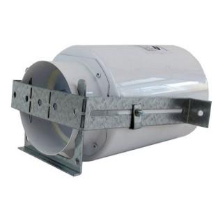 Boîtier TVA métal - DN125 - 1 x Ø 90 mm - Raccordement arrière - Hauteur 165 mm [ - Réseau ComfoTube - 990320701 - Zehnder]