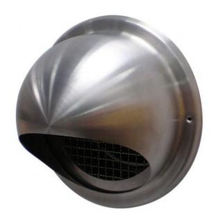 Terminal prise et rejet d'air inox Ø 100, 125, 160 et 180 mm pour gaine calorifugée EPE [- accessoire VMC double flux - Brink]