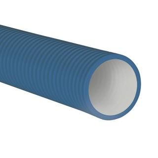 Conduit PEHD antistatique Optiflex 50 mètres - Ø extérieur 75 ou 90 mm [- Conduits Polyéthylène et accessoires VMC - Aldès]