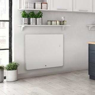 EQUATEUR 4 Connecté - Blanc granit - Horizontal - Pilotage intelligent [- Radiateur Inertie Fonte - Thermor]