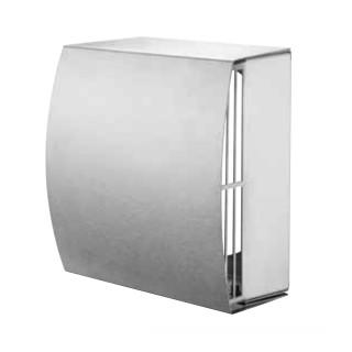 Grille de façade galbée DN 160 mm [- KWL 45 WH - Accessoire VMC double flux encastrable avec technologie EC - Helios]