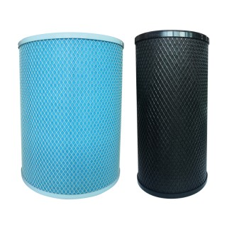 Lot de 2 filtres pour AIRPUR 360 [- Filtration pour purificateur d'air résidentiel mobile - S&P Unelvent]
