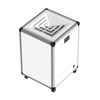 AIRPUR - PAP 850 V H14 - Flux d'air Vertical [- Purificateur d'air commercial et sanitaire mobile - S&P Unelvent]