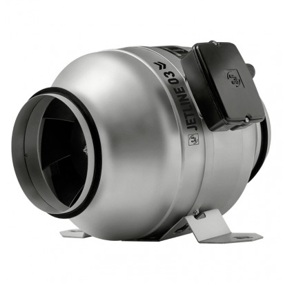 JETLINE Ø 125, 160, 200, 250 et 315 mm [- Ventilateurs ultra-compact pour gaines - S&P Unelvent]