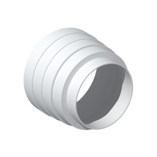 Réduction multi-diamètres de 100 à 130 mm - RMC ( Ø 100 / 116 / 120 / 125 / 130) [- conduits PVC de Ventilation - Unelvent]