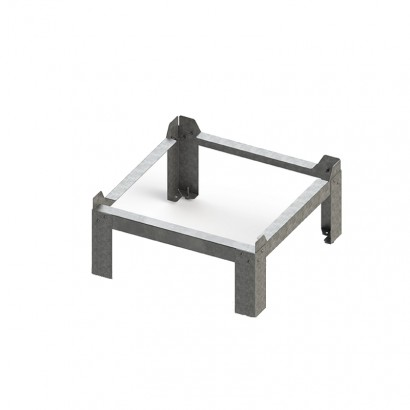 Kit fixation sol InspirAIR Top [- Accessoire VMC Double flux InspirAir - Aldès]