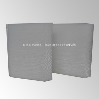 1 filtre de rechange charbon actif pour VMC KWL EC 360 W [- ELF-KWL 360 AK - Helios]