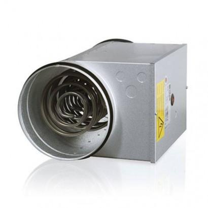 Batterie post-chauffage fluxostat intégré - BPCF - DN 125, 160 ou 200 mm [- Post-chauffage électrique - BPCF - Brink]