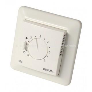 DEVIREG 530 [- Thermostat encastré avec sonde de dalle pour Plancher chauffant - Deléage / Danfoss]