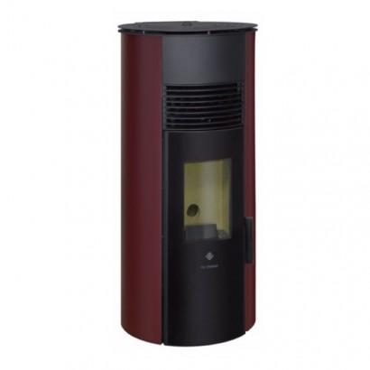 RONDALIA Rouge bordeaux - 3 à 9 kW [- Poêle à Granulés de bois - De Dietrich]
